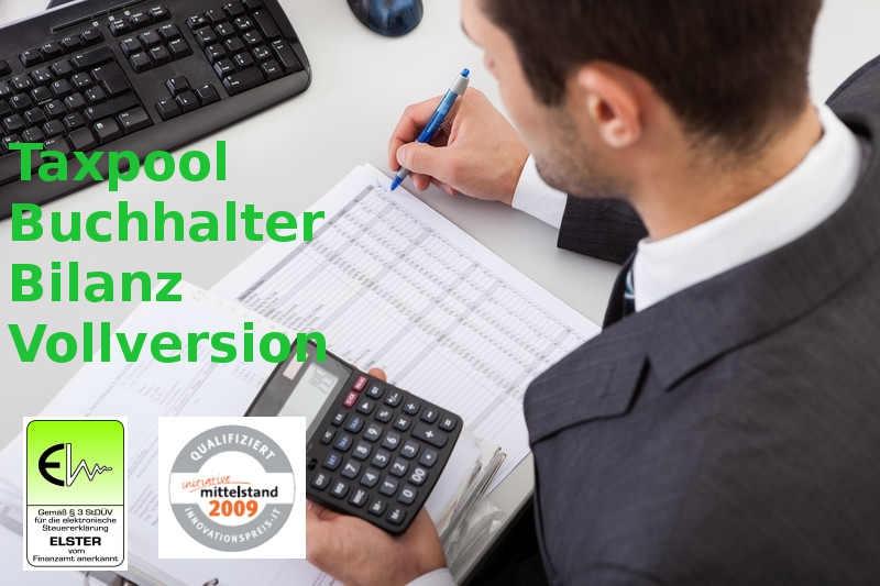 Version 2021 Taxpool Buchhalter Bilanz Vollversion Lizenz Datev
